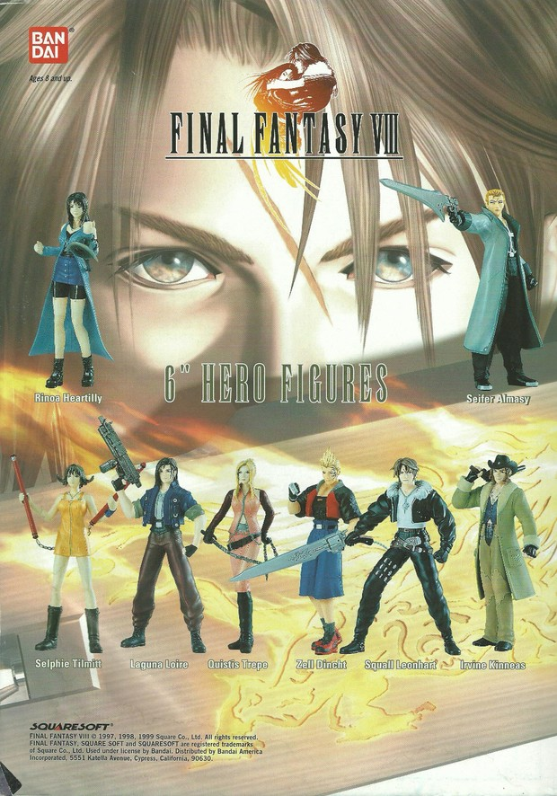 FF8 Action Figures