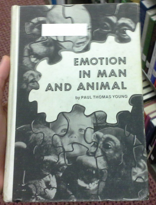 Emotion in Man and Animal