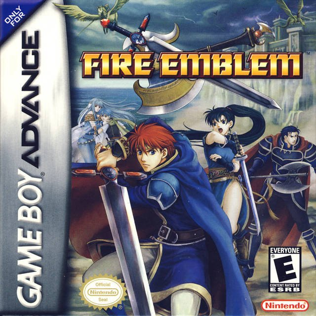 Boxart for Fire Emblem: the Binding Blade