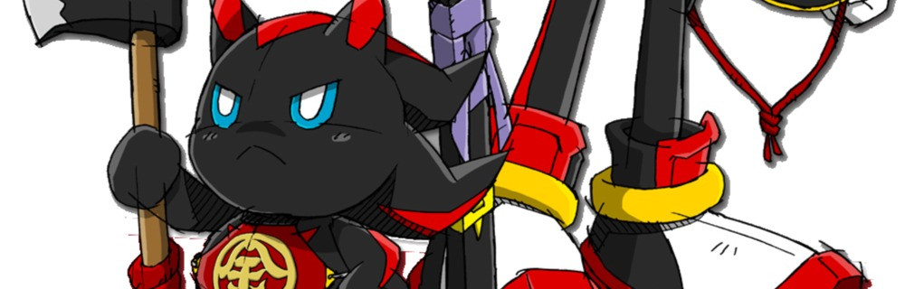 Dark Chao blog header photo