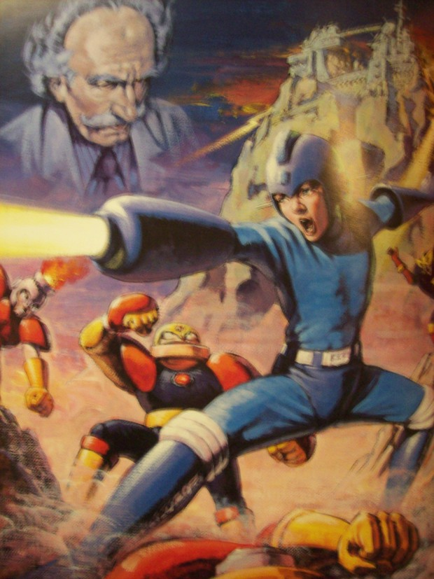 First off is european art for mega man 1 i suppose it actually