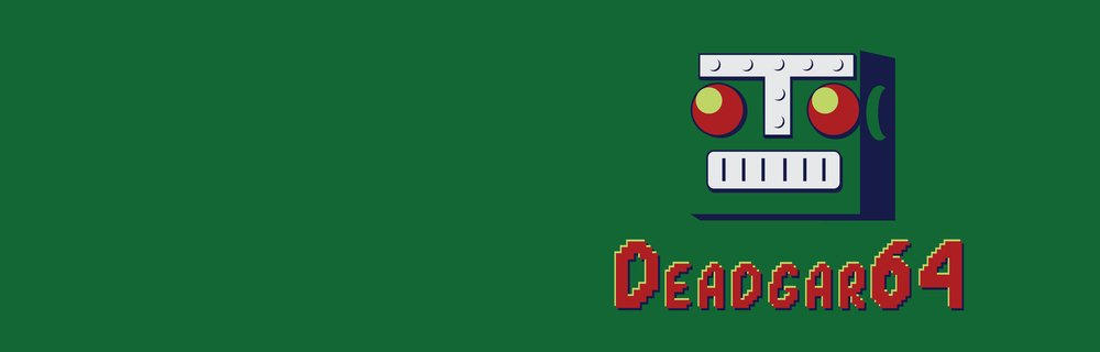 He might be DEADgar64 blog header photo
