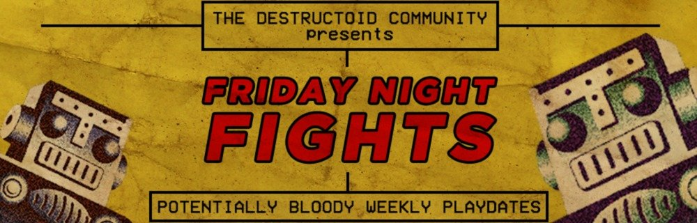 Friday Night Fights blog header photo