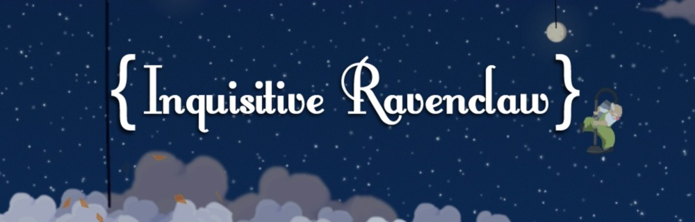 Inquisitive Ravenclaw blog header photo