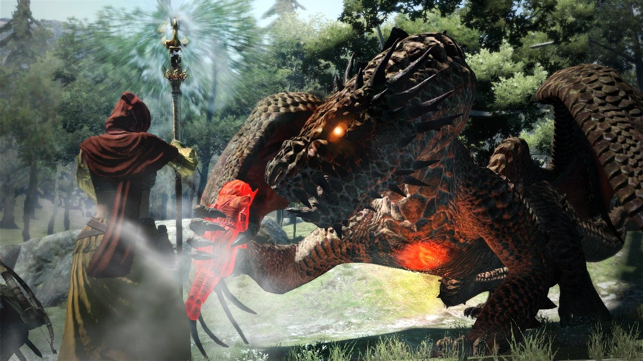 dragons dogma how to fforce pawn to give buff