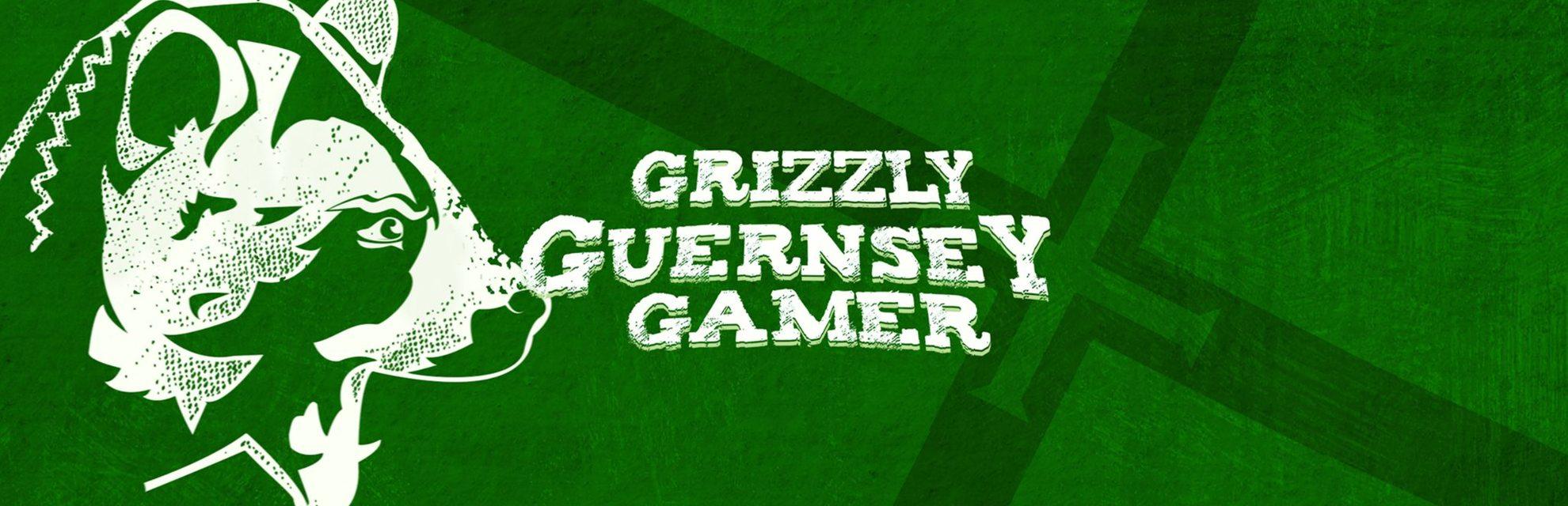 Grizzly Guernsey Gamer blog header photo