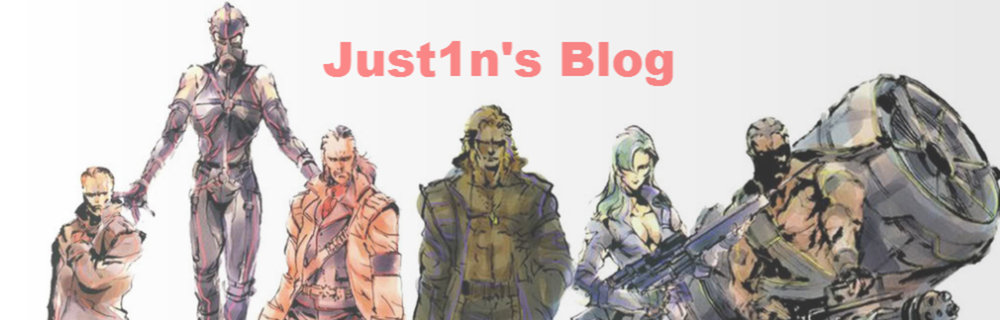 Just1n blog header photo