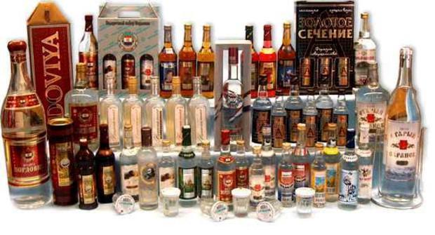 Водка, виски, алкоголь
