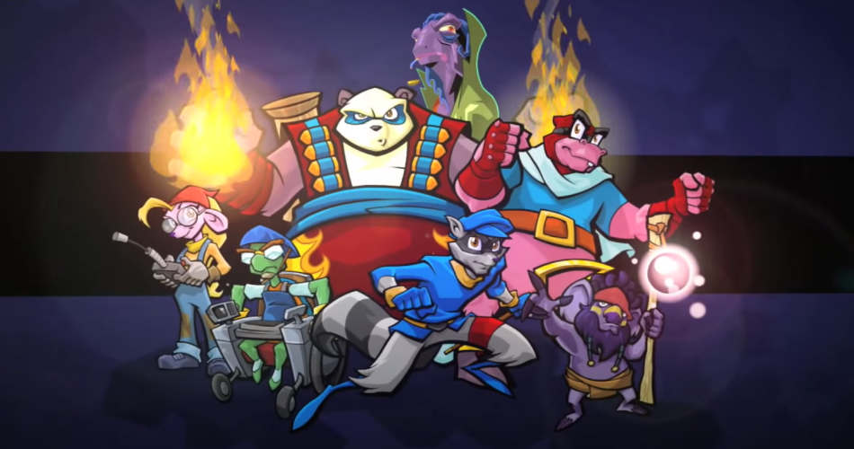 Sly Cooper Gang   Source: Sly Collection Trailer, YouTube