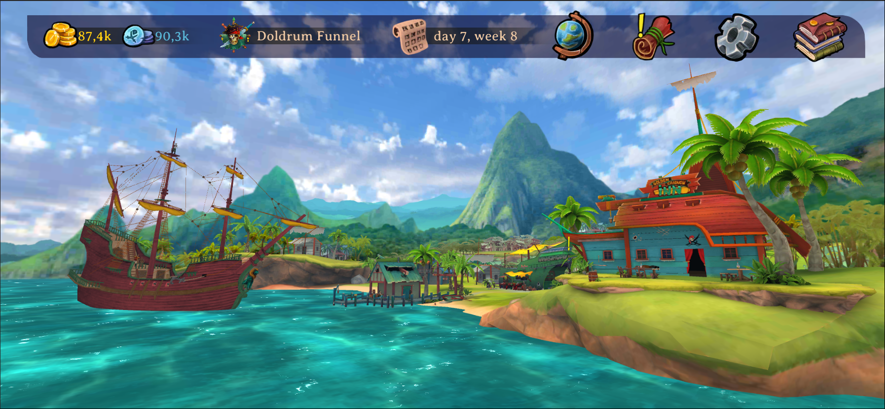 Free Pirate Game Elly and The Ruby Atlas Port