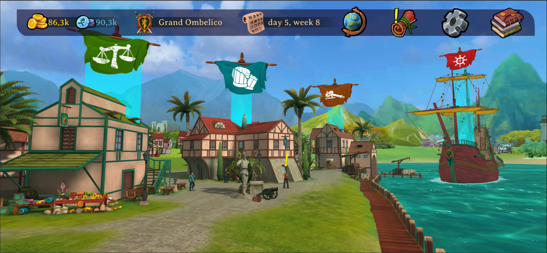 Free Pirate Game Town Elly and the Ruby Atlas