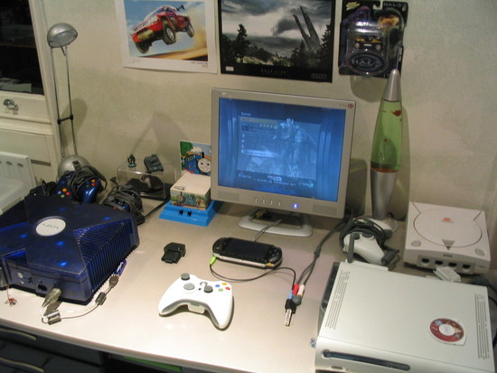 Community Blog by jkh13 // My compact gaming setup Ps2 Console Back