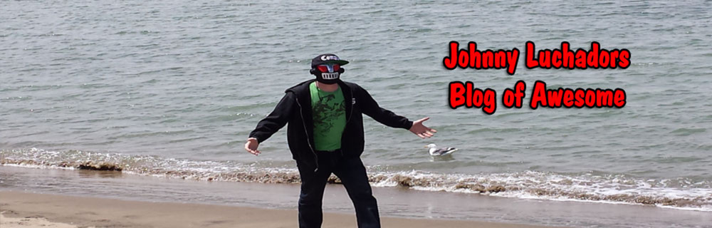 Johnny Luchador blog header photo