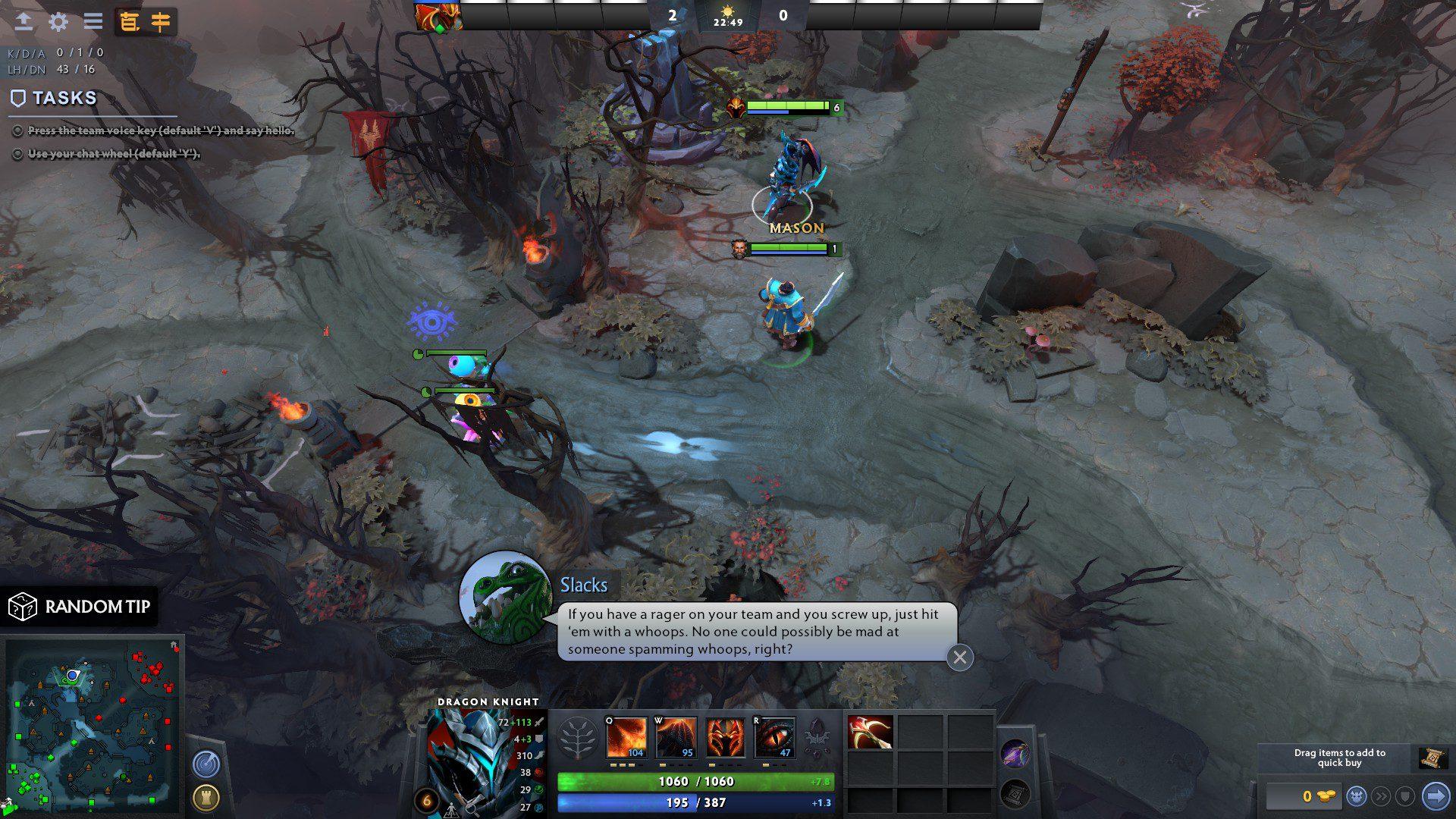 Community Made Dota 2 Tutorial screenshot