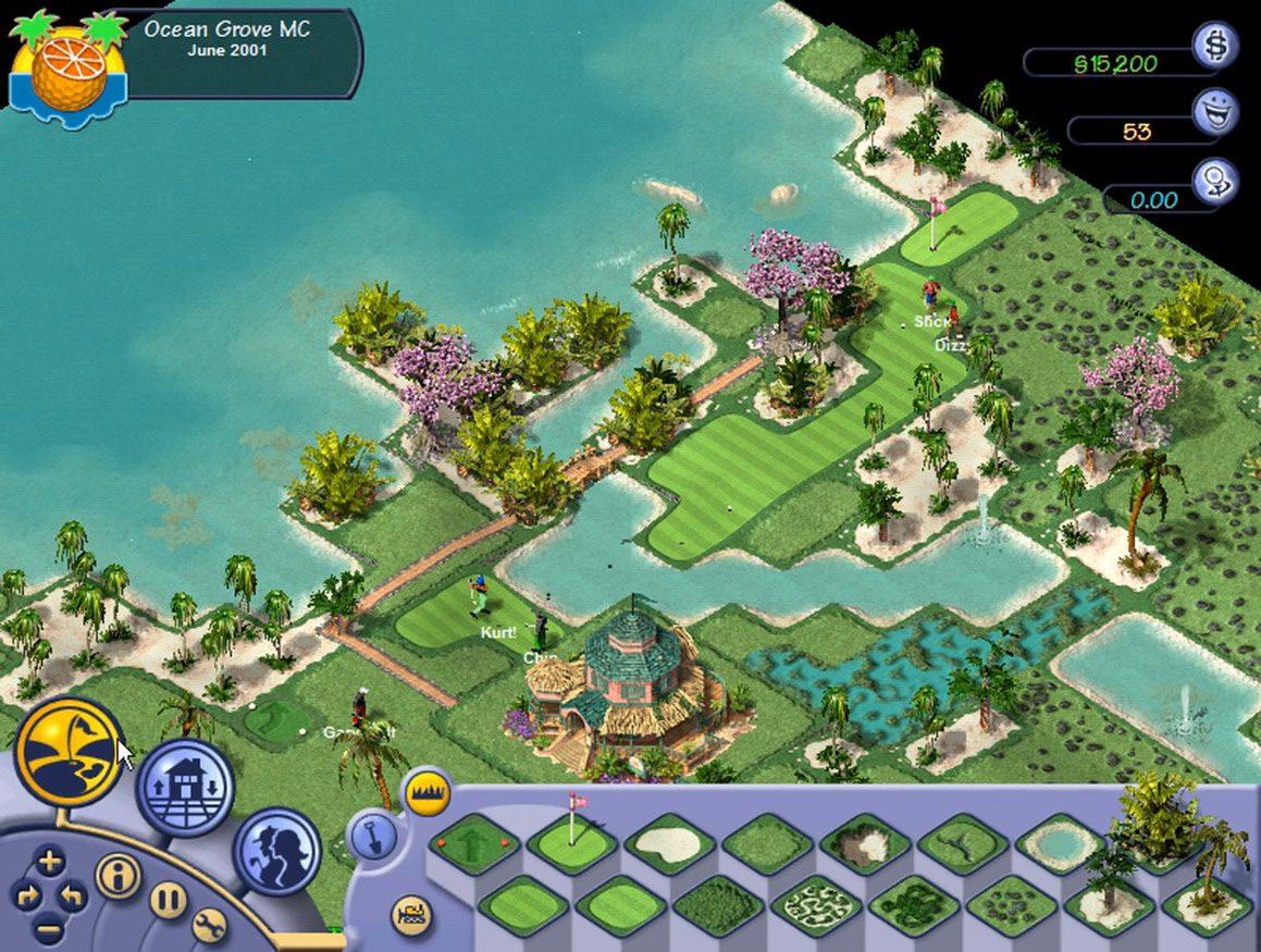 Ocean Grove in Sid Meier's SimGolf.