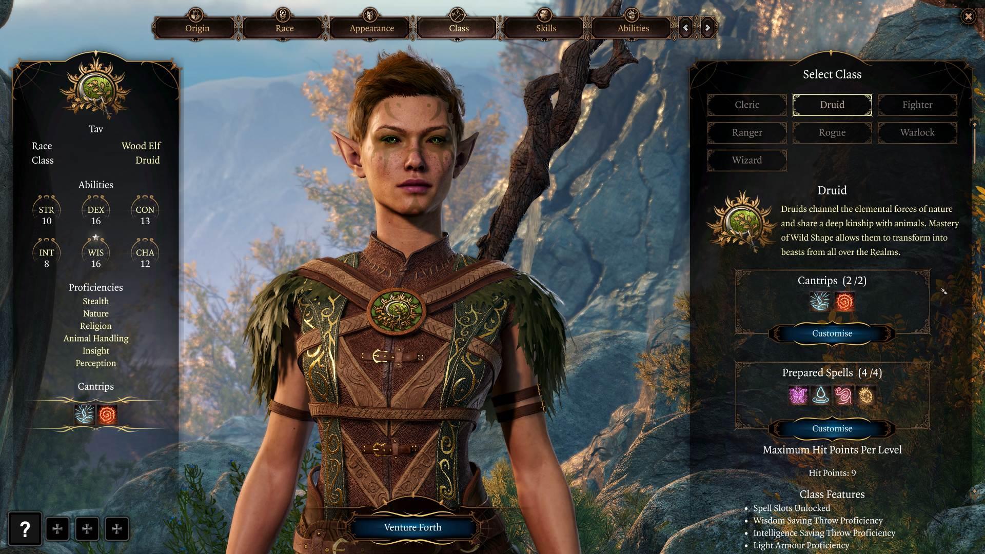 BaldursGate3 DruidMaker 040221 | RPG Jeuxvidéo