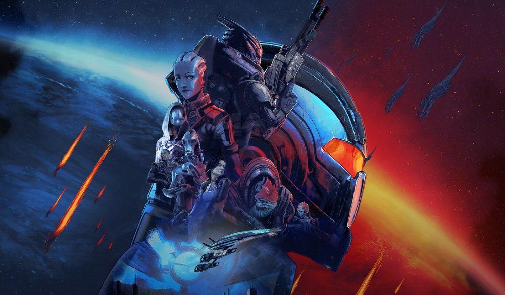 Mass Effect: Legendary Edition key art