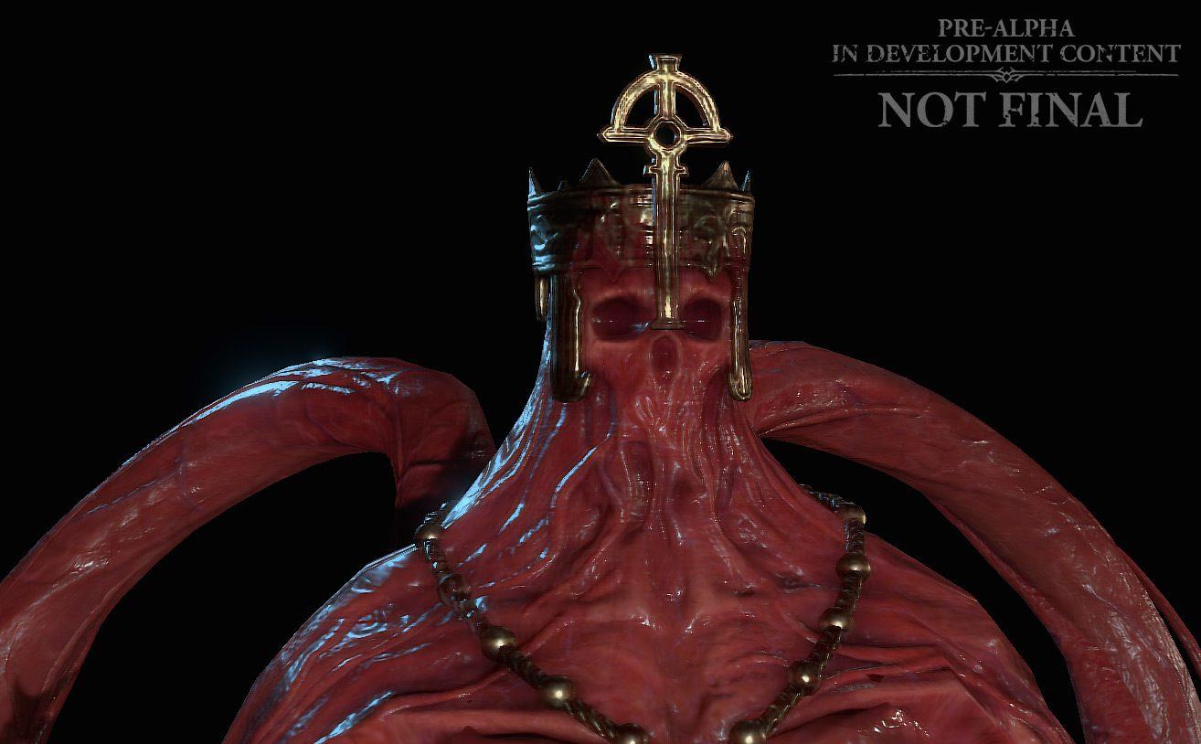The Blood Bishop enemy in Diablo IV