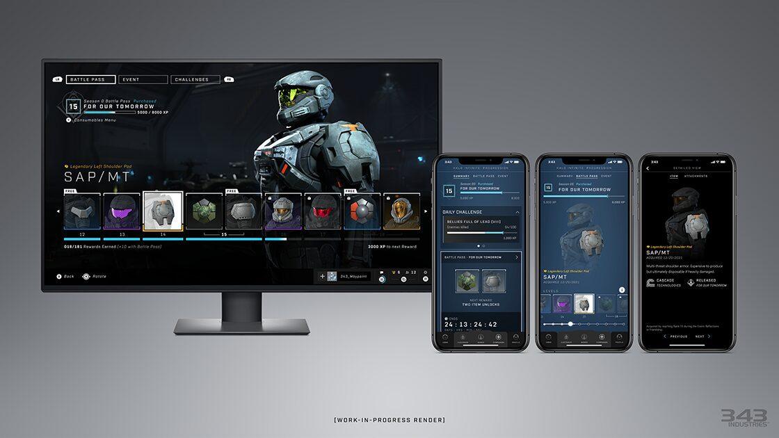 Halo Waypoint Redesign