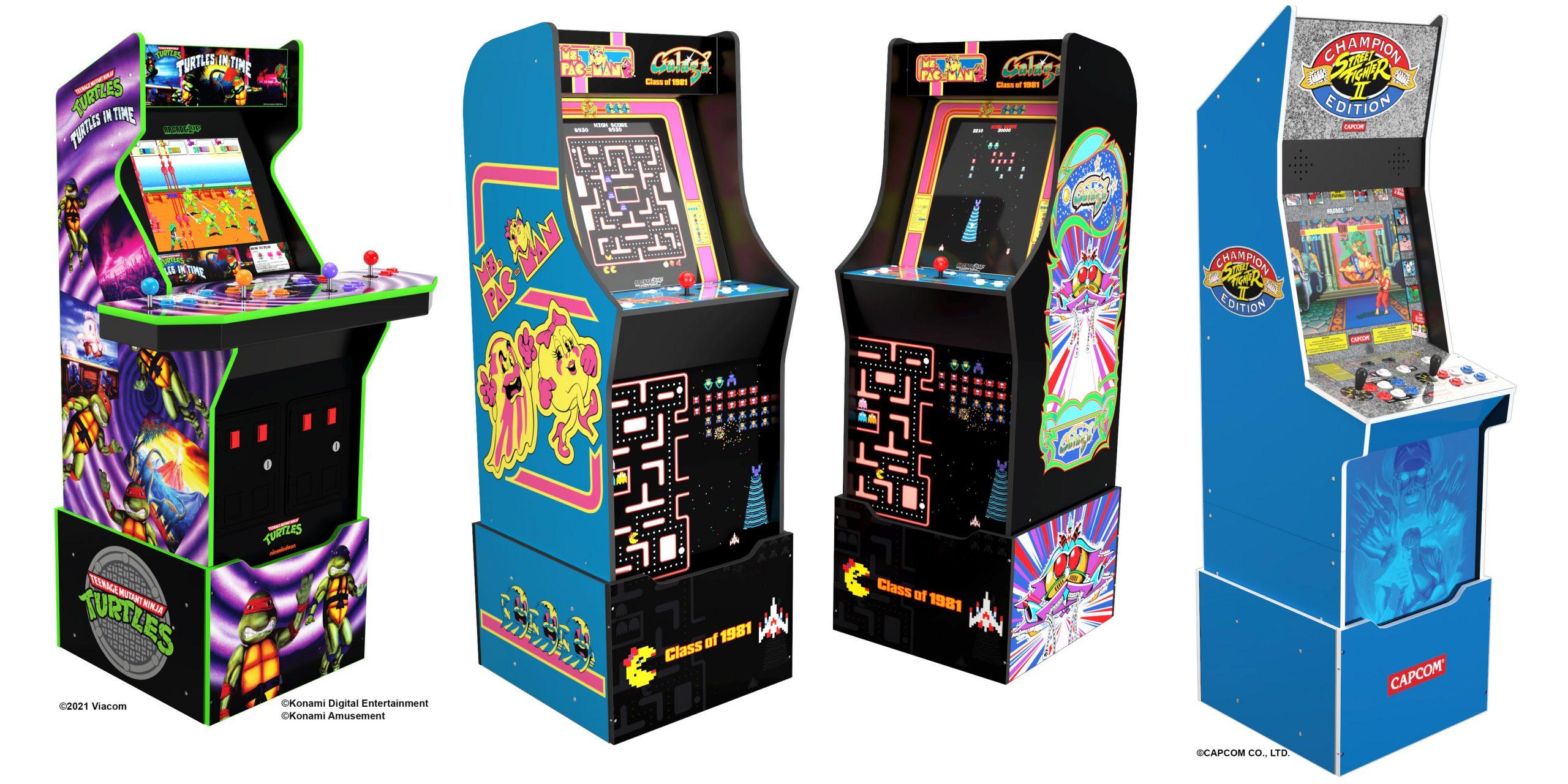 Street Fighter II arcade cabinet