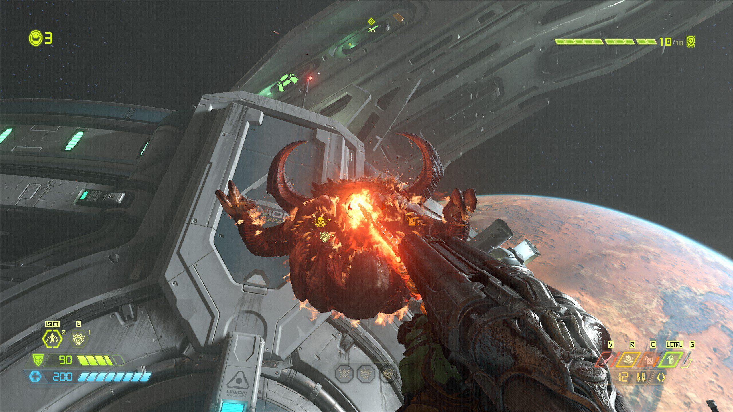 Doom Eternal Pain Elemental in pain