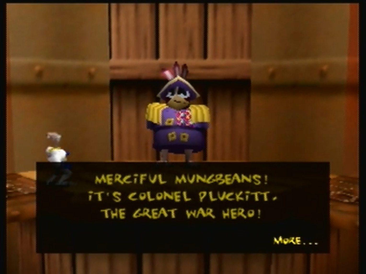 Earthworm Jim 3D dialogue
