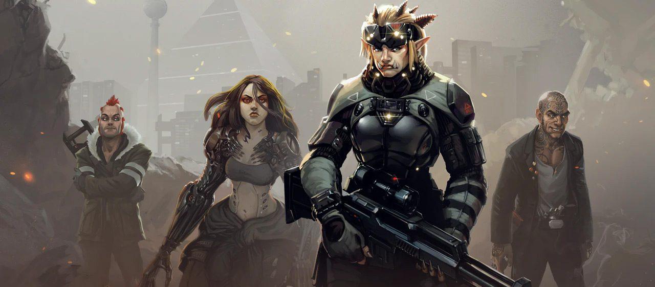 Shadowrun: Dragonfall artwork