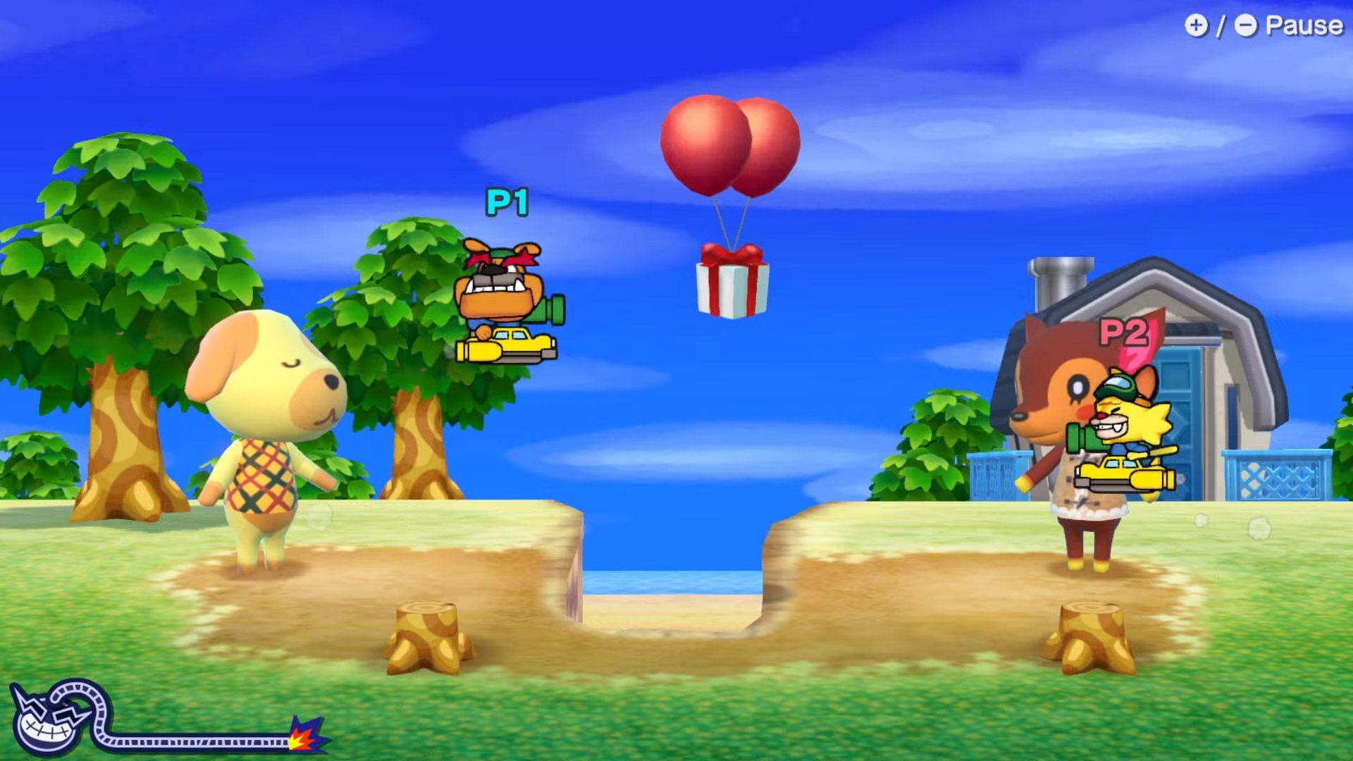 Animal Crossing in WarioWare: Get It Together