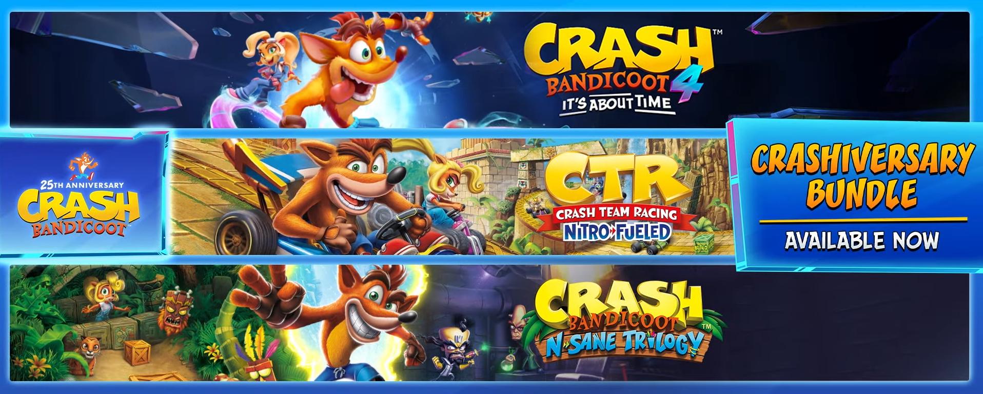 Crash Bandicoot bundle