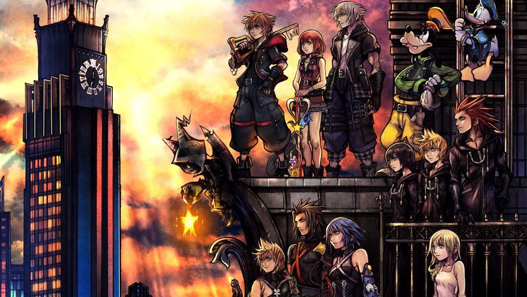 Kingdom Hearts 3 key art