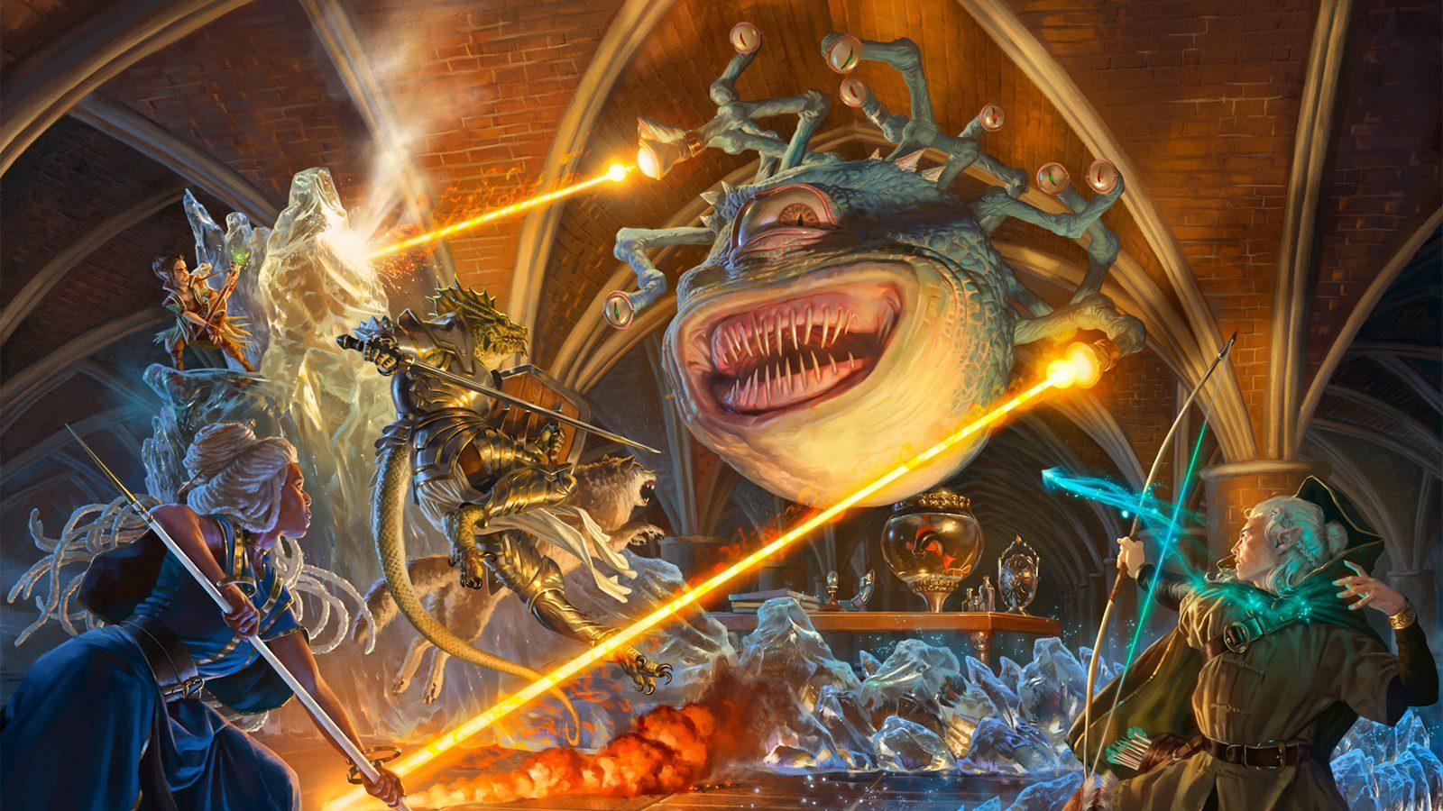Adventures in the Forgotten Realms Beholder wallpaper