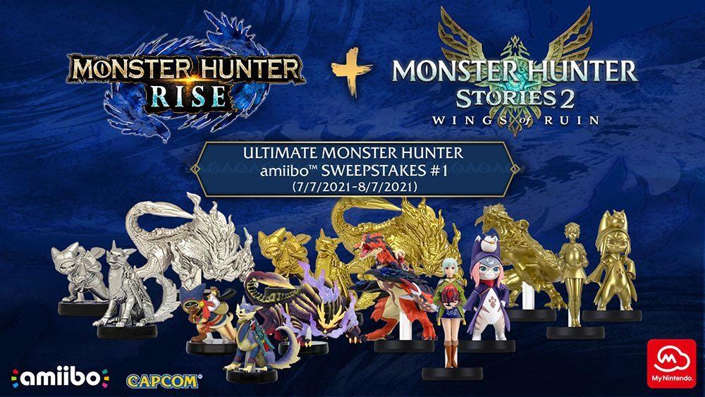 gold Monster Hunter amiibo