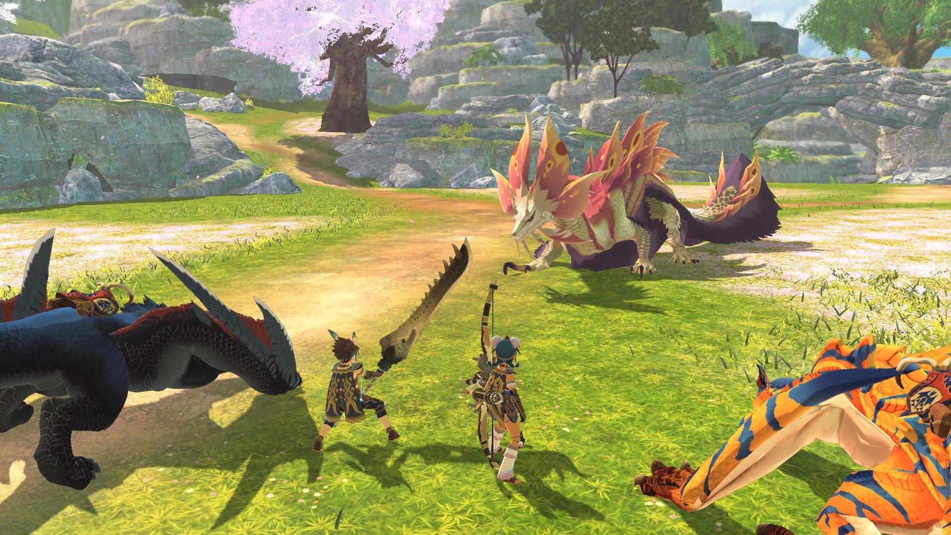 Monster Hunter Stories 2 bugs