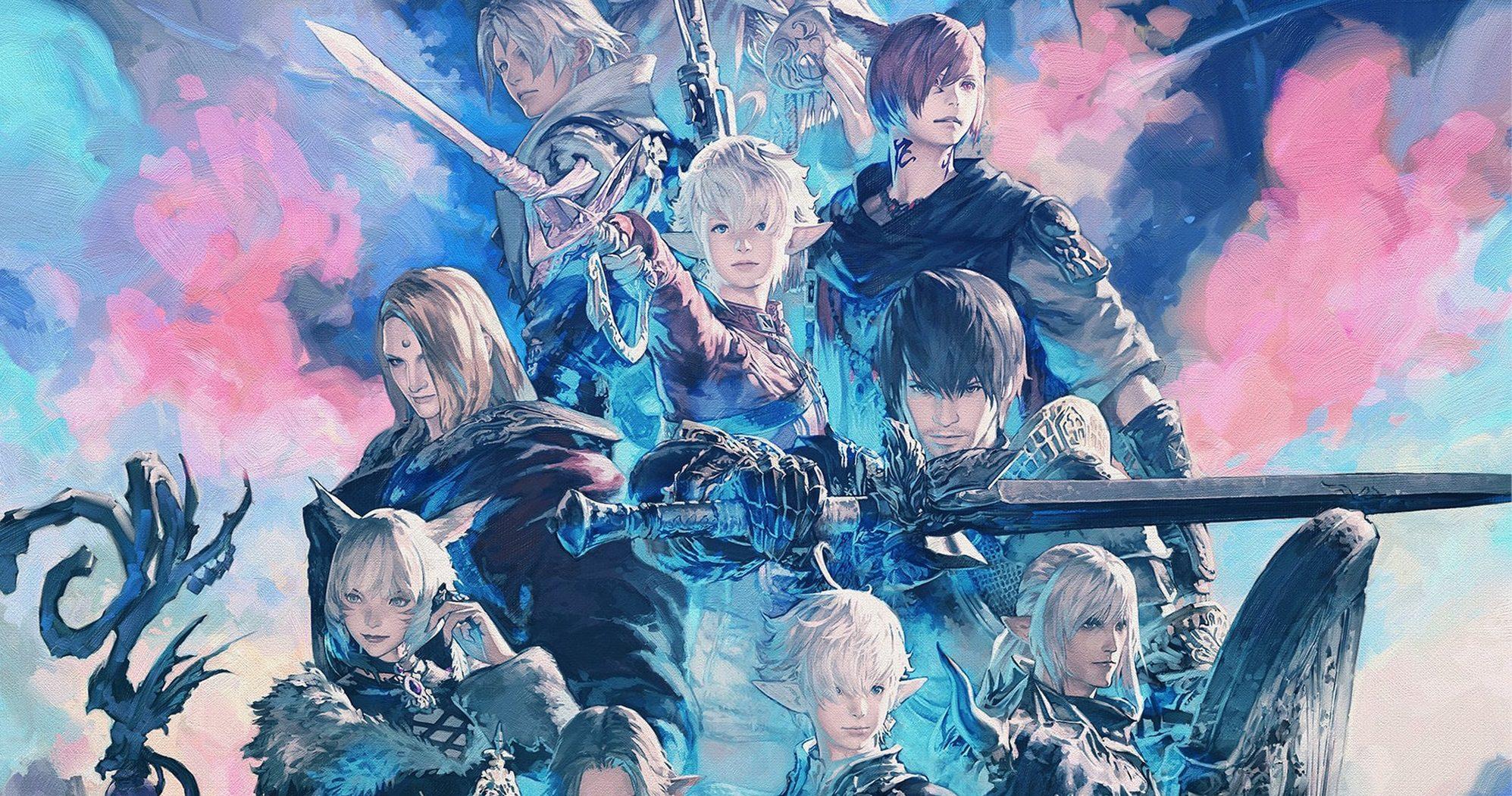 Final Fantasy XIV stress test