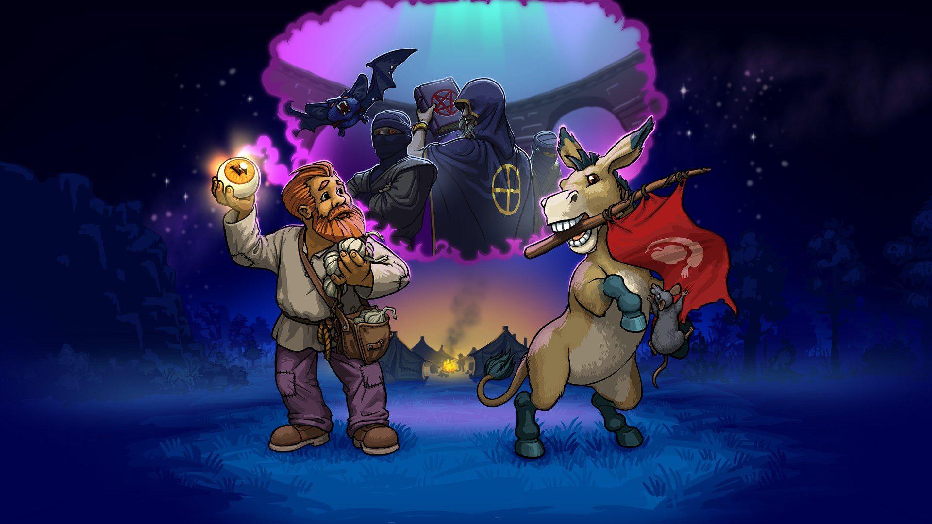 Graveyard Keeper: Game of Crone key art