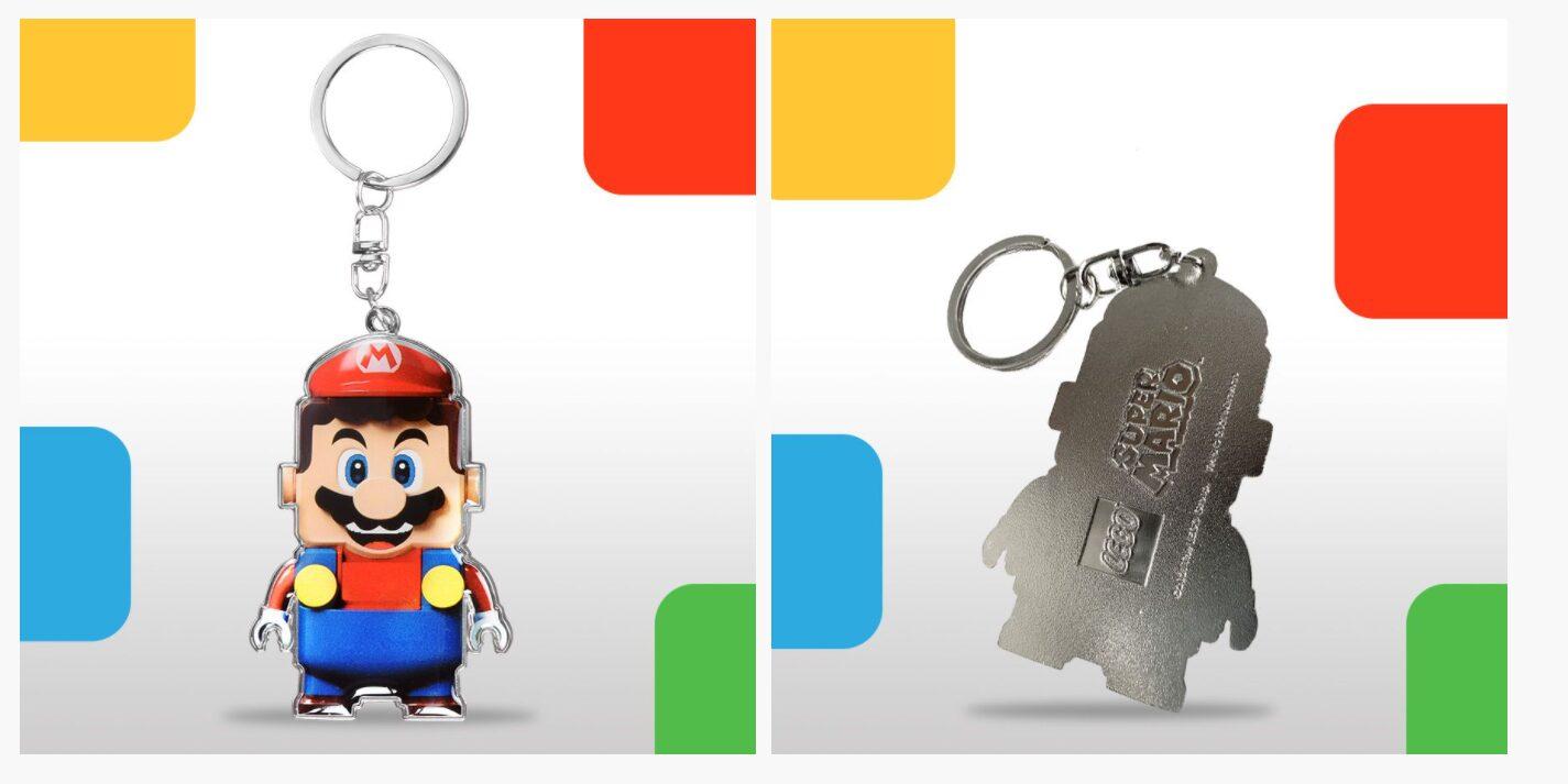 LEGO Mario keychain