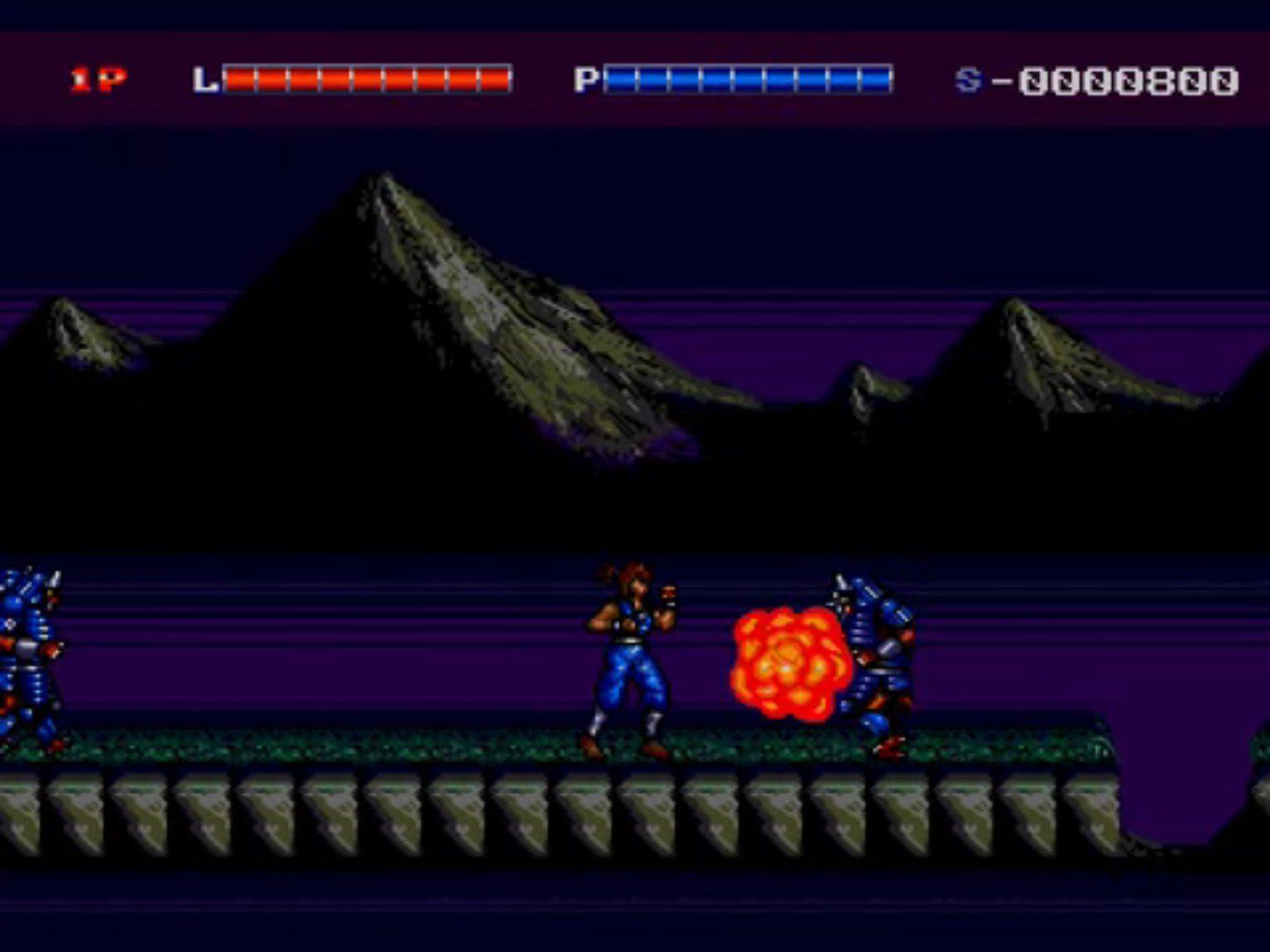 Shadow Blasters Blasting