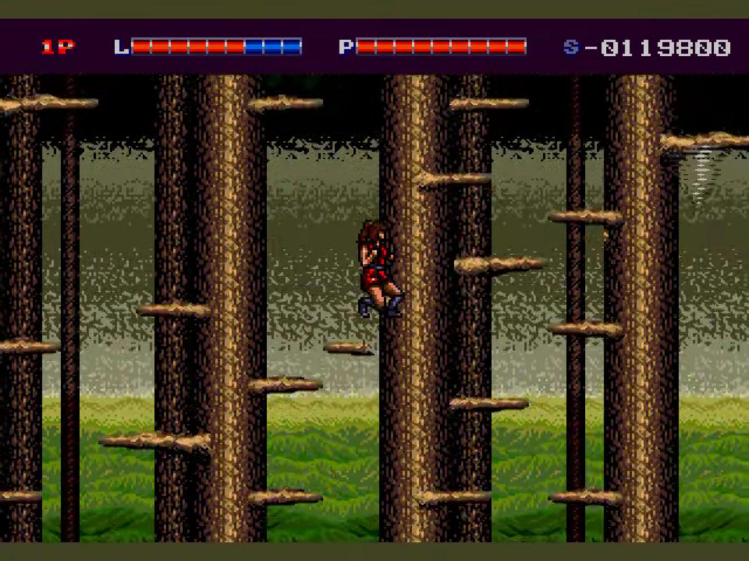 Shadow Blasters Tree Falling