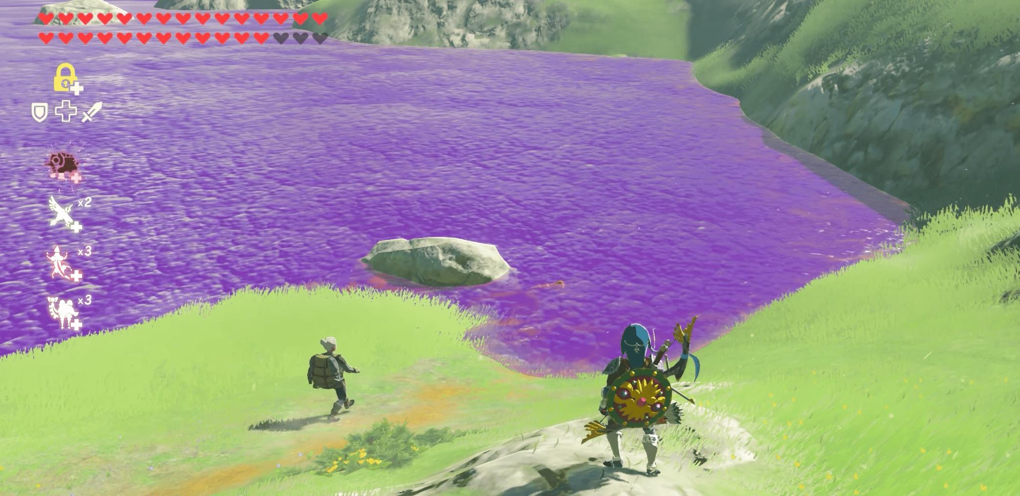 Zelda Poison Water