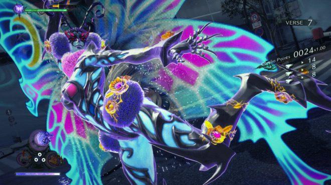 Bayonetta 3 gameplay screenshot