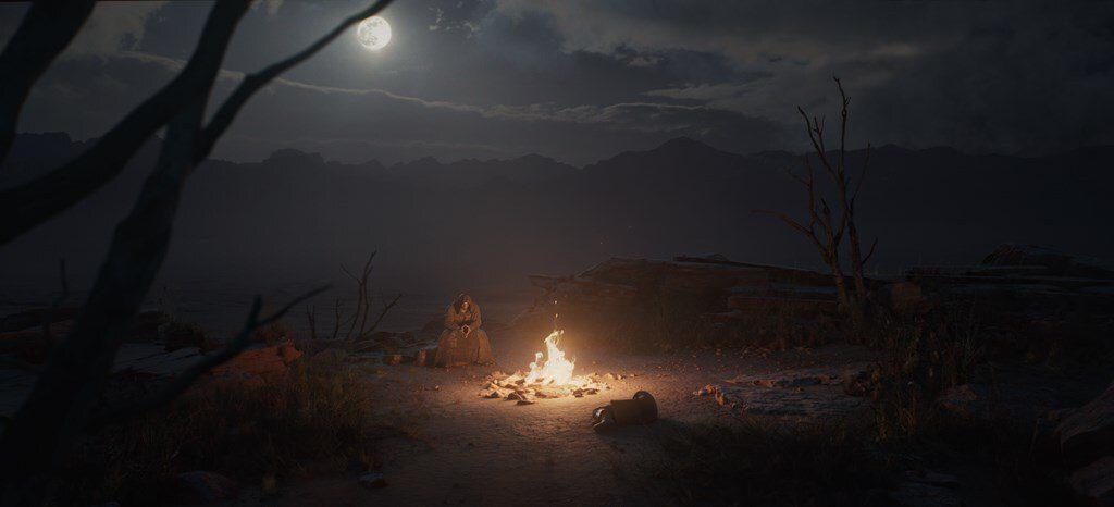 Diablo II: Resurrected campfire