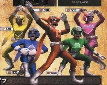 Super Sentai inspirations in God Hand