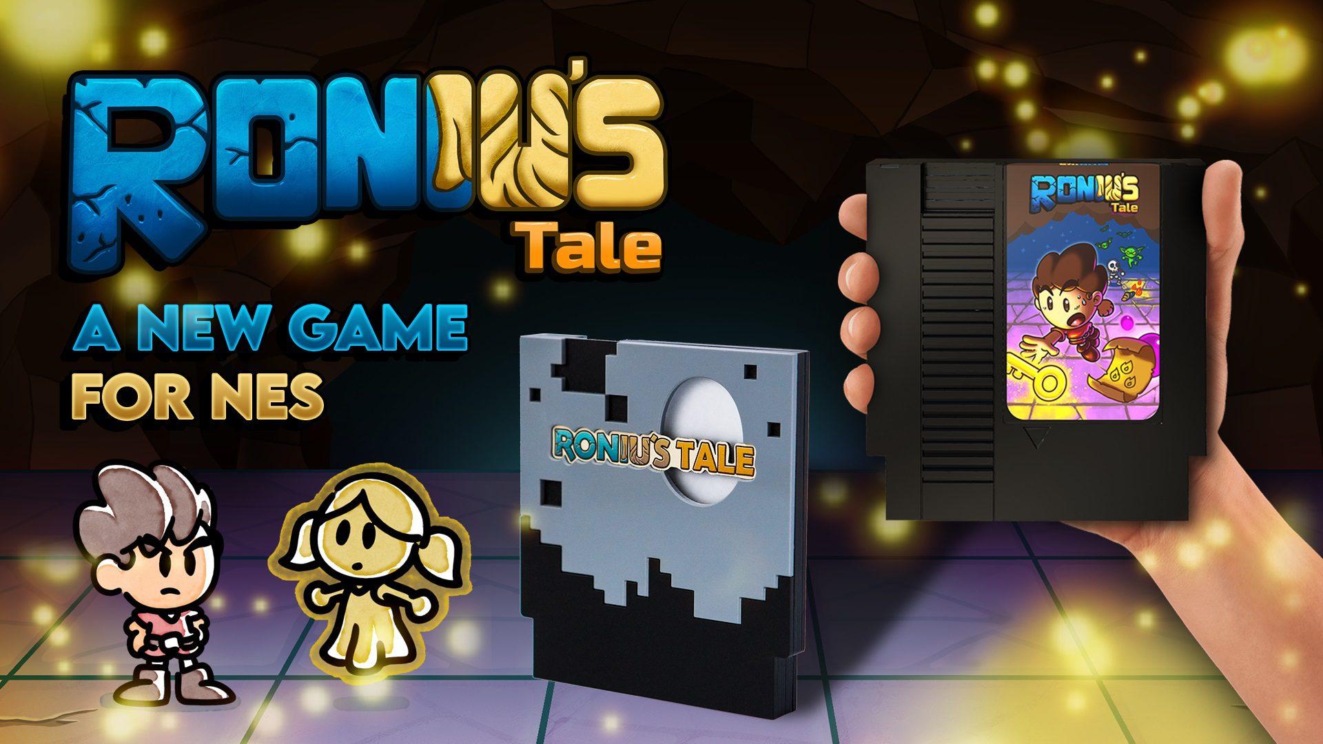 Roniu's Tale Mega Cat Studios NES cartridge contest