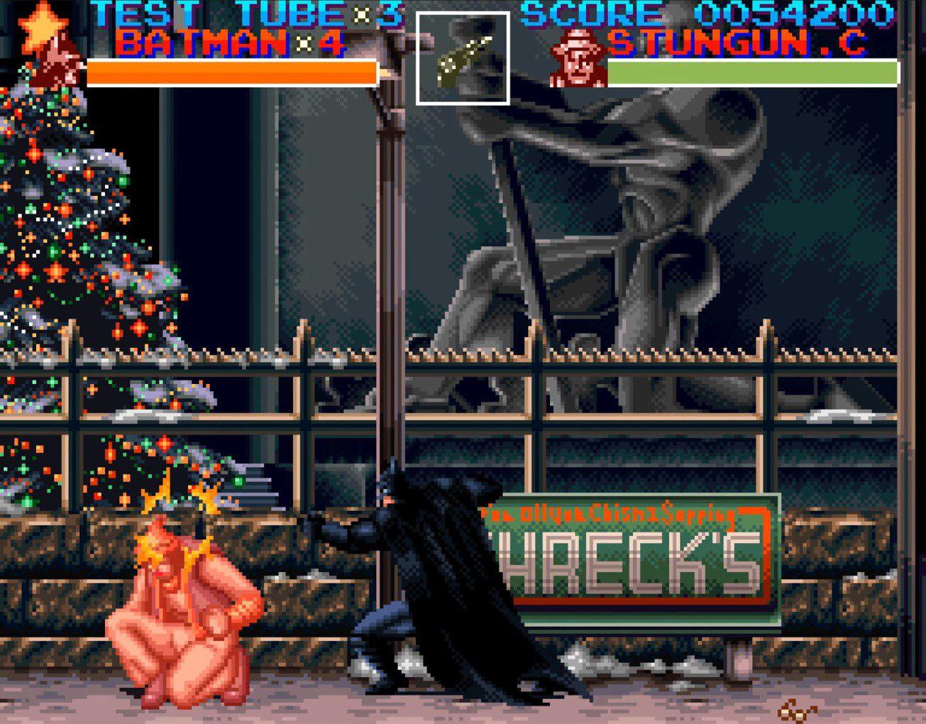 Batman Returns Boss