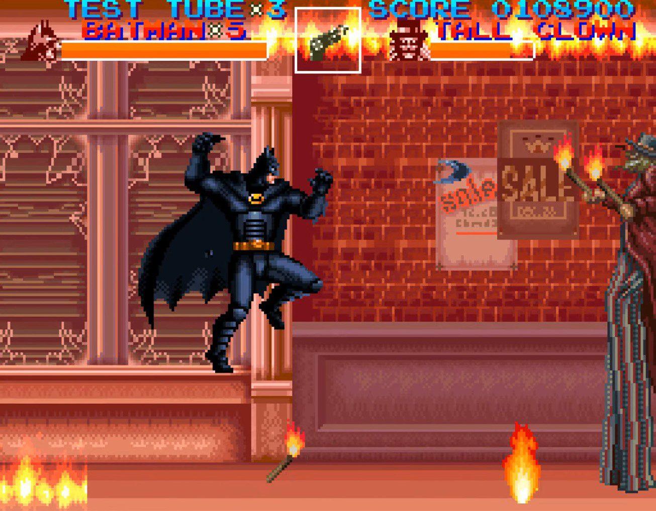 Batman Returns Fire