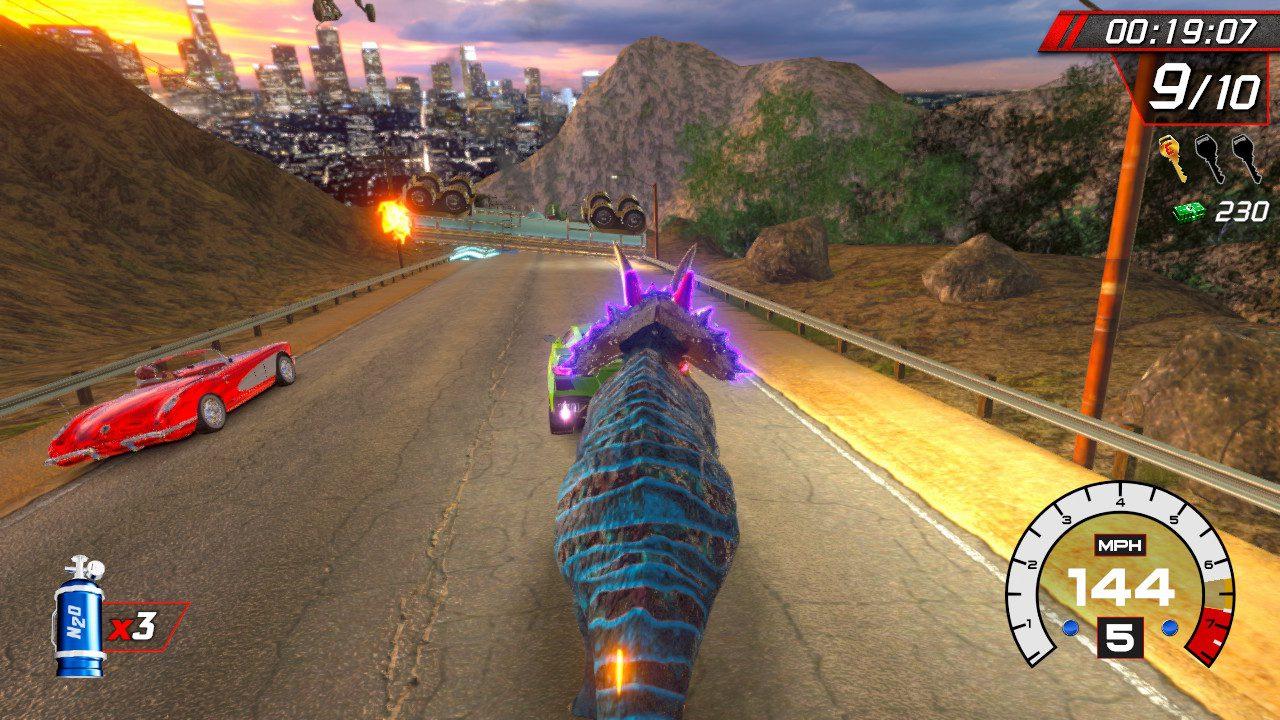 Cruis'n Blast Triceratops
