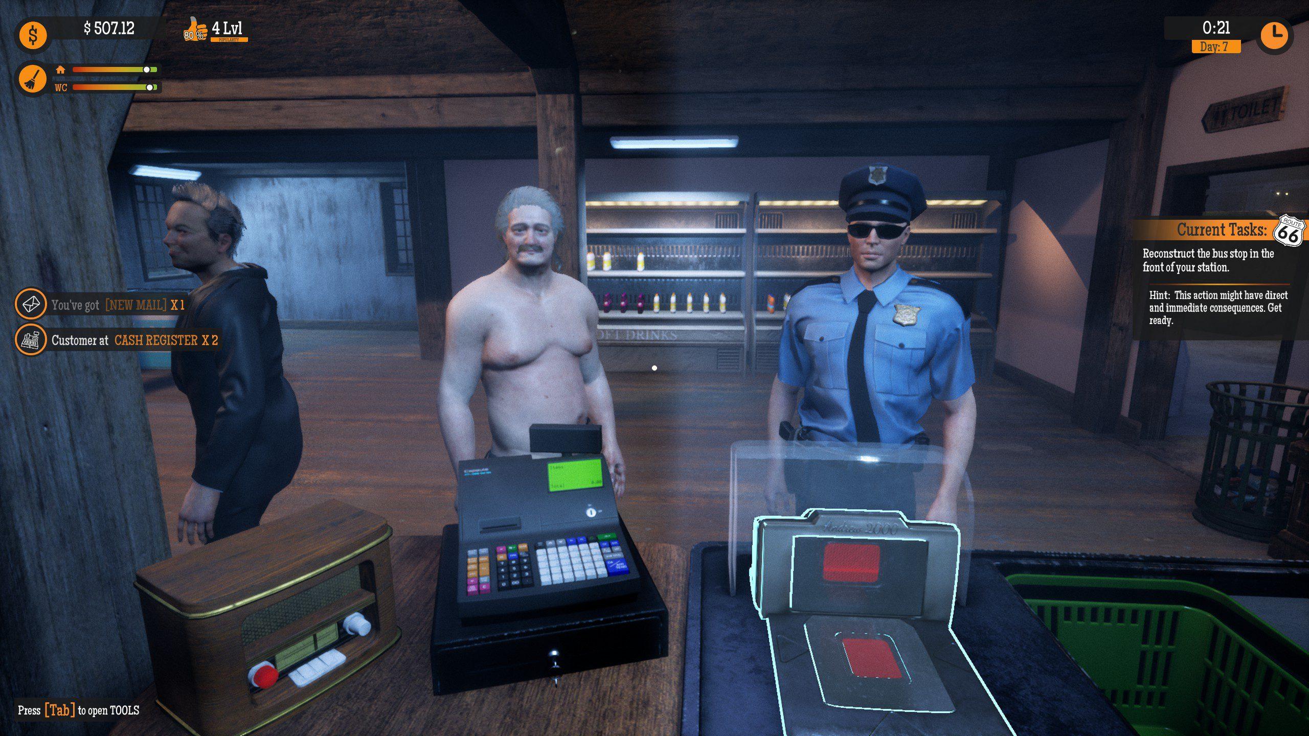 Gas Station Simulator Customers