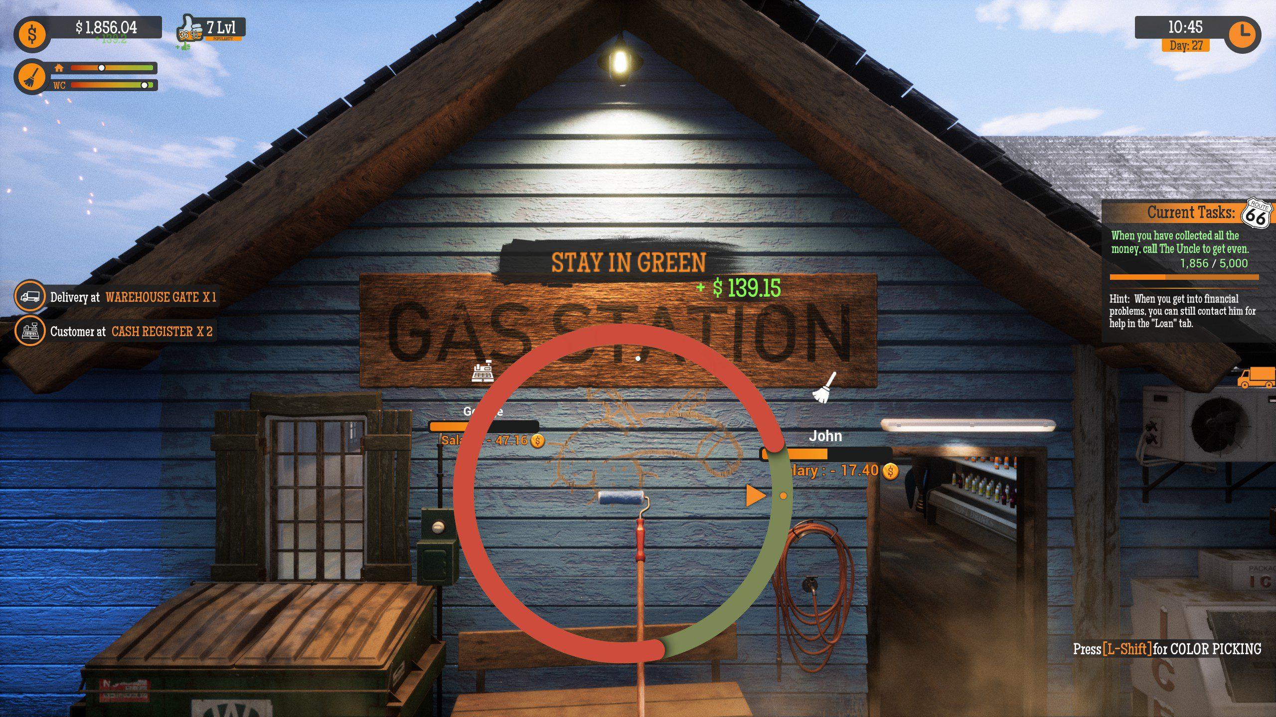 Gas Station Simulator Wang
