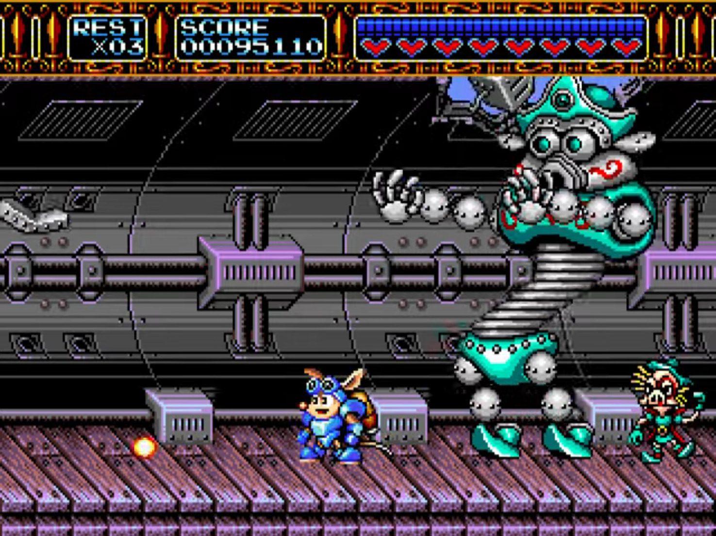 Rocket Knight Adventures Gyrating Robot