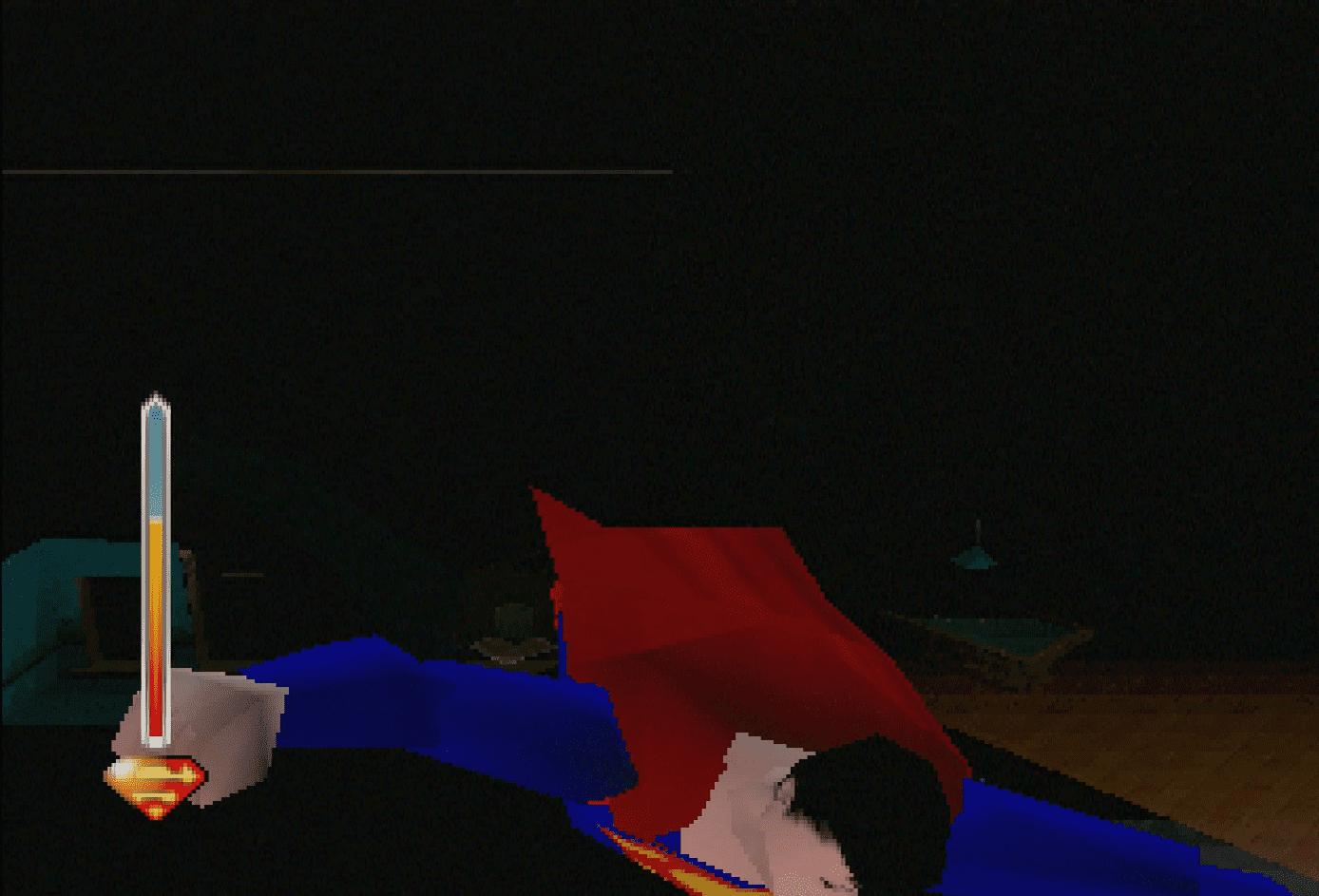 Superman Super Glitch